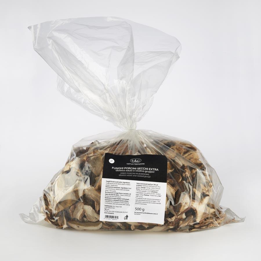 Funghi Porcini Secchi EXTRA 500g