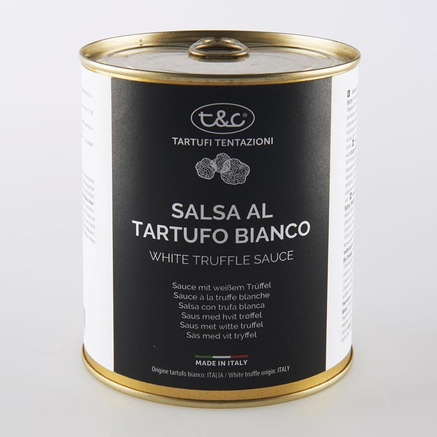 Salsa Con Tartufo Bianco Latta Da 800g