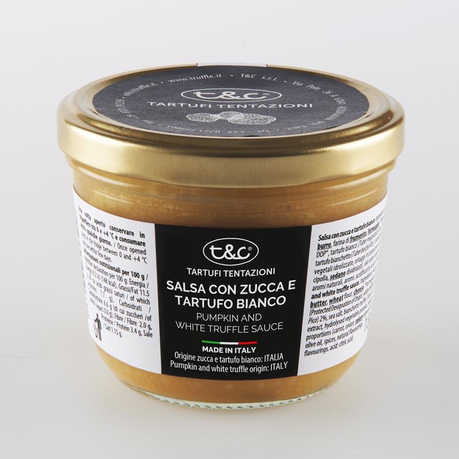 Salsa Con Zucca E Tartufo Bianco