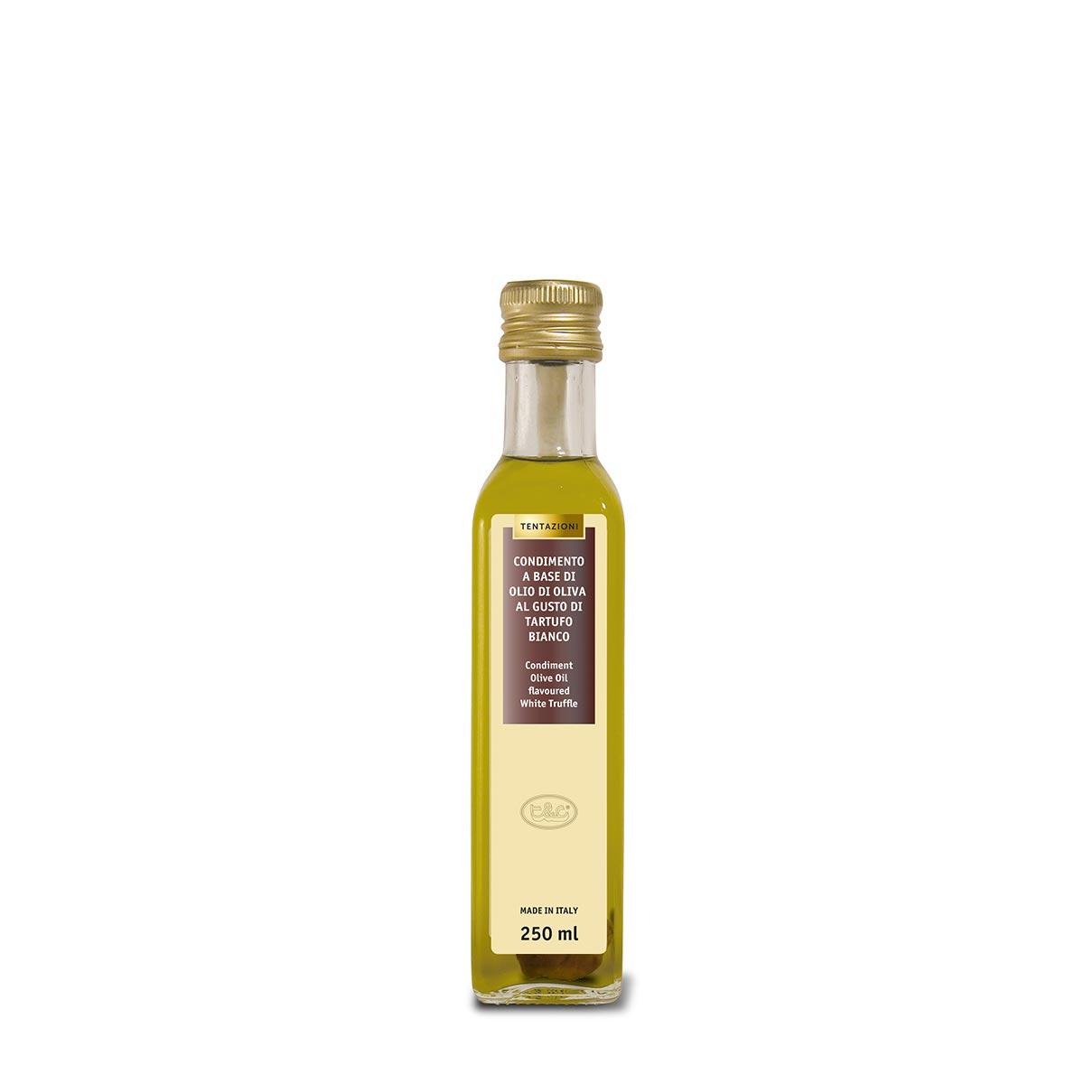 Condimento Olio Di Oliva Al Tartufo Bianco Con Testimone 250ml