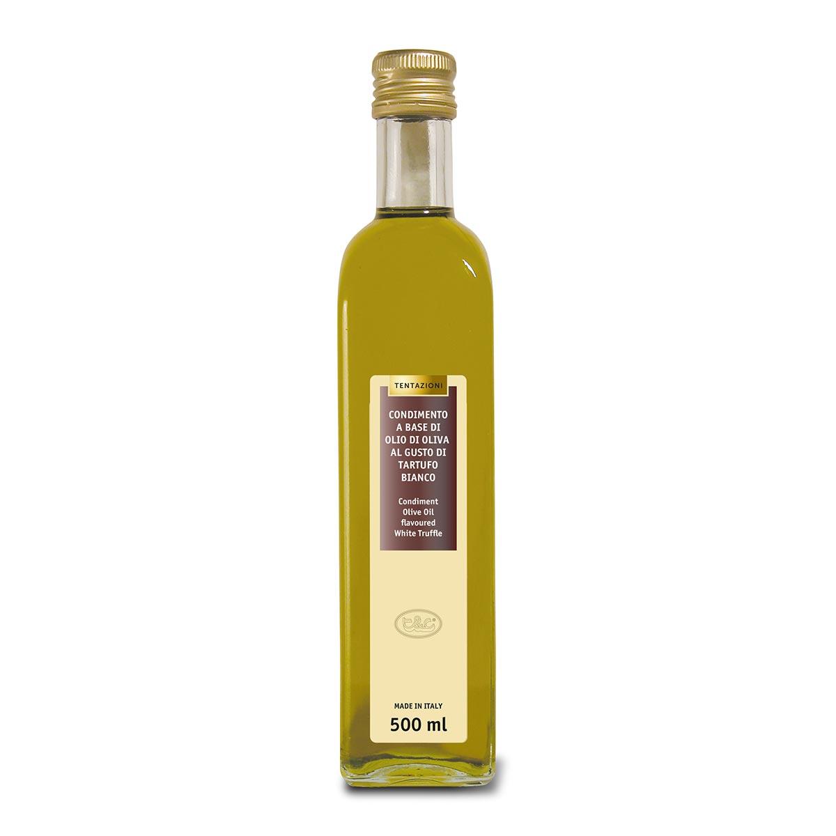 Condimento Olio Di Oliva Al Tartufo Bianco