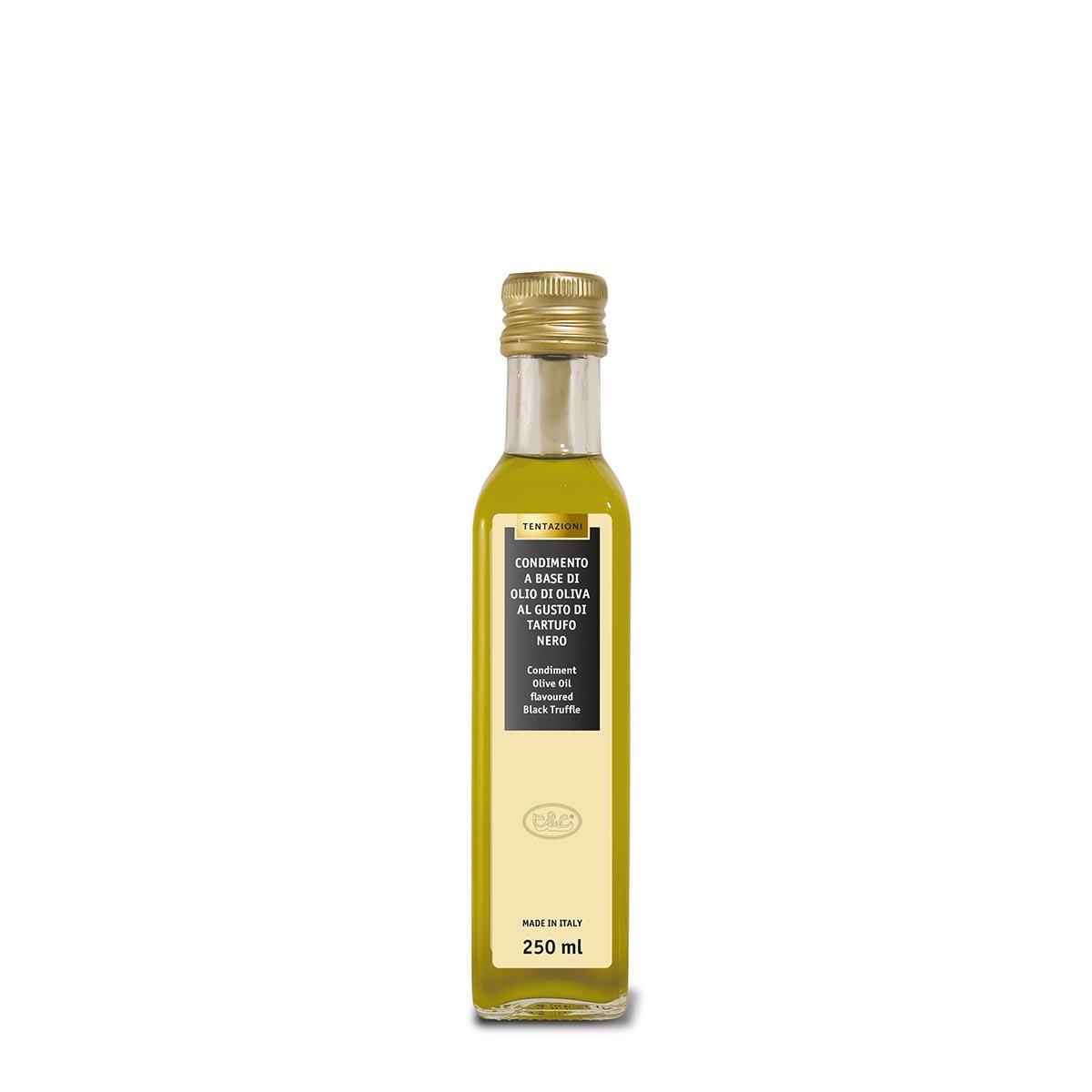 Condimento Olio Di Oliva Al Tartufo Nero 250ml